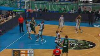 PANATHINAIKOS-SIENA  90-85 PANATHINAIKOS HIGHLIGHTS