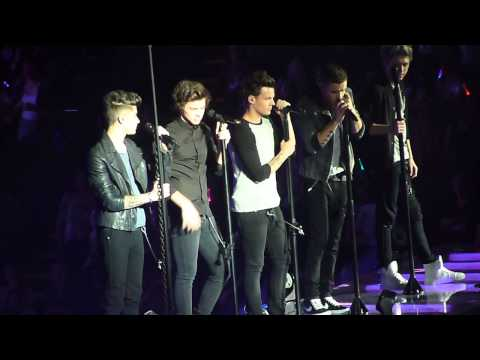 One Direction - Last First Kiss/Moments - London o2 01/04/13