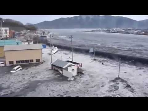 Typhoon in Japan.  Power of the Nature