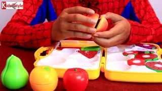 Kids style Siêu nhân và bộ đồ trái cây