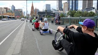 Urban Drift Triking - SlideMelbourne Bull Run