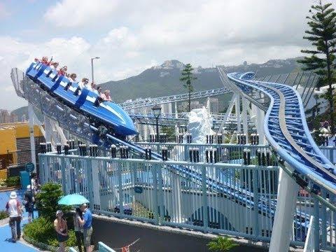 Arctic Blast, Ocean Park Hong Kong. 北極衝擊,香港海洋公園。