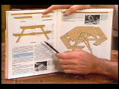 How To Build A Picnic Table Hexagonal Picnic Table 1 3