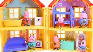 Mejores Videos Para Niños - Peppa Pig and Family House Fun Videos For Kids
