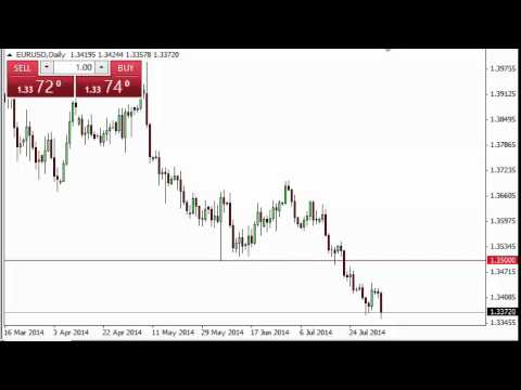 EUR/USD Technical Analysis for August 6, 2014 by FXEmpire.com