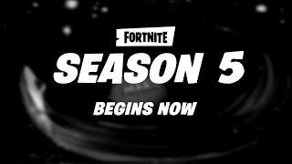 Fortnite Season 5 Trailer *EARLY LEAK* - Fortnite Battle Royale Season 5 Official Trailer