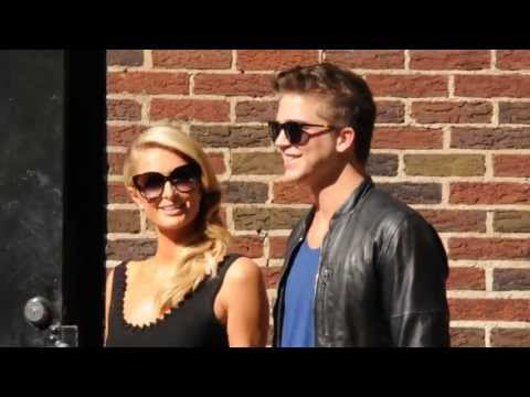 Paris Hilton with River Viiperi in NYC