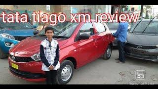 Tata tiago xm  red petrol review