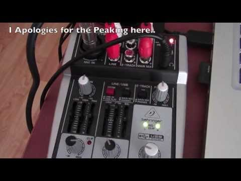 Behringer Xenyx 302USB Portable Sound Mixer - Review