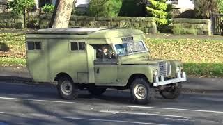 1970  LAND ROVER AMBULANCE  109 4 CYL