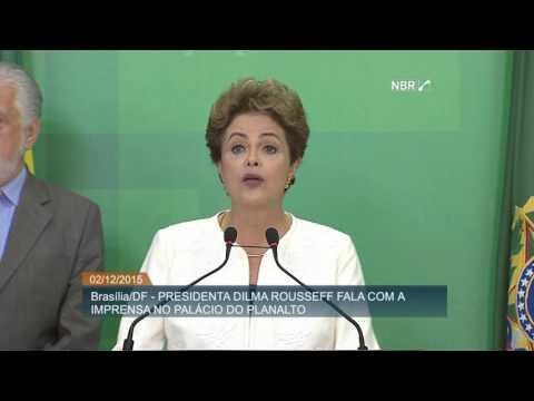Pronunciamento da presidenta Dilma Rousseff sobre autorização de abertura do processo de impeachment