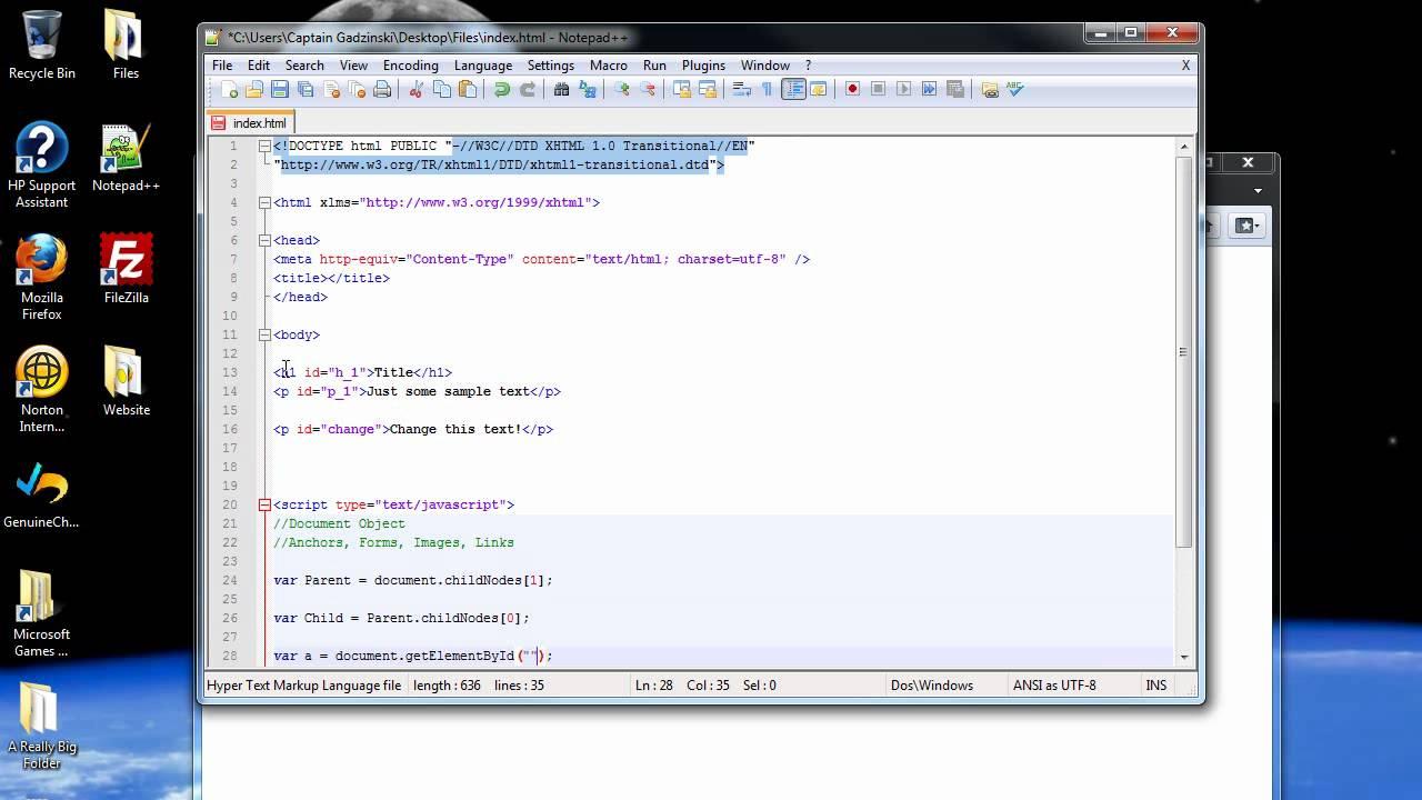 javascript dom tutorial pdf