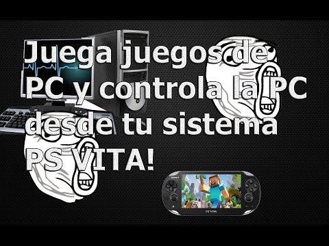 PsVita - ¿Como jugar juegos de PC en la PsVita? - Vita Remote Desktop Retrozelda v2 2014 100% LEGAL