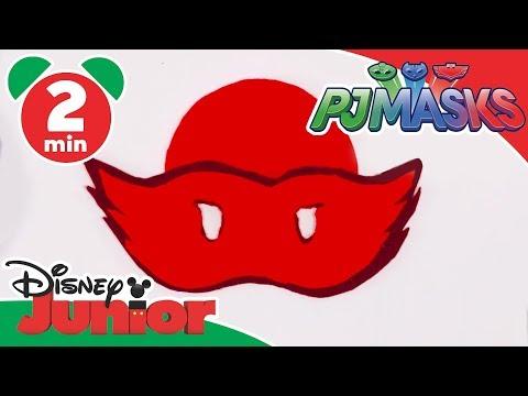 PJ Masks | Tutorial: Owlette Mask | Disney Junior UK
