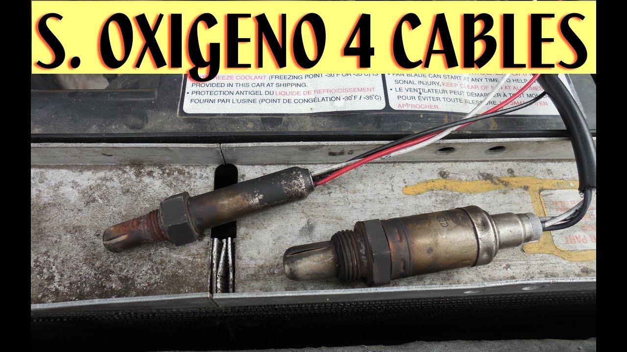 Como Probar Sensor De Oxigeno 4 Cables Obd2 Youtube