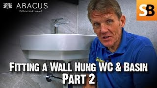 (17.0 MB) Fitting Wall Hung WC Toilet & Basin with Abacus Part 2 Mp3