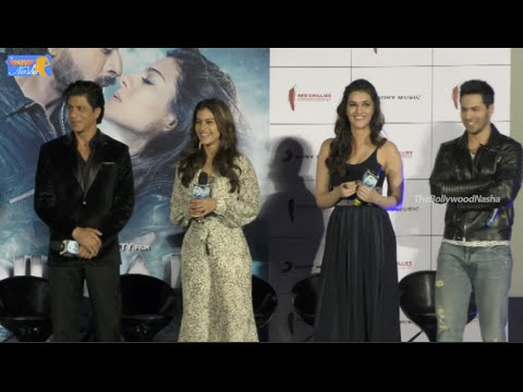 Dilwale - New Song 'Gerua' Launch by Sharukh Khan, Kajol ,Varun Dhavan, Kriti - Full
