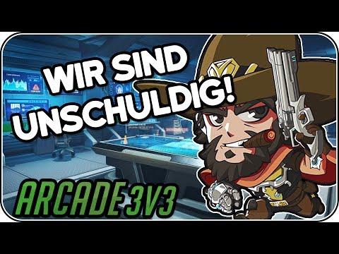 Wir sind unschuldig! • Overwatch Arcade 3vs3 deutsch