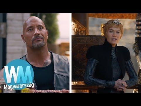Top 10 színész, akik visszautasították a közös jelenetet
