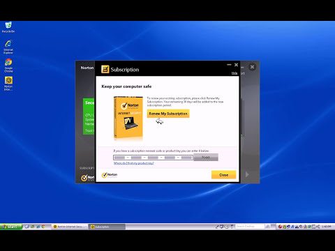 How to activate Norton Internet Security