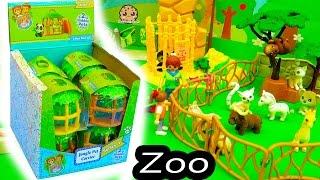 Fuzzy Jungle In My Pocket Surprise Animal Blind Bag Cages At Playmobil Toy Zoo