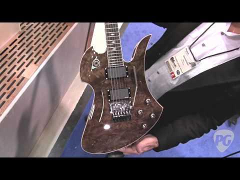 NAMM '12 - BC Rich Mockingbird SL Deluxe, Mockingbird 10 Supreme, Matt Tuck Signature V