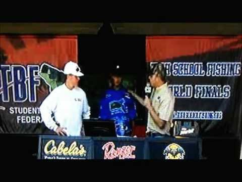 2012- High School Fishing World Finals, Lake Dardanelle Arkansas
