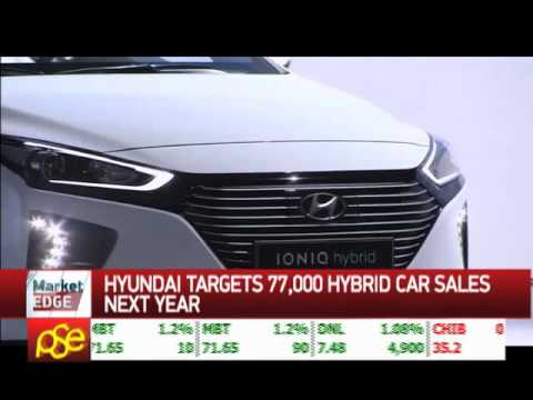 Hyundai targets 77,000 hybrid car sales next year