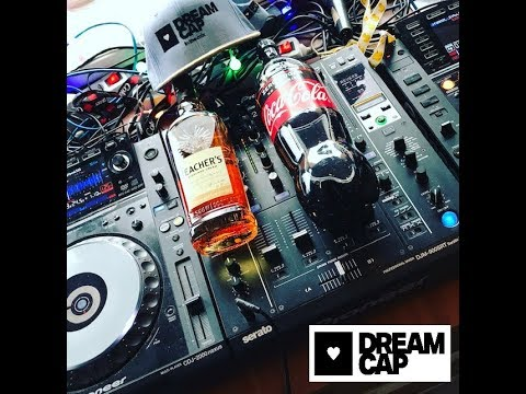 Dream-cap Chillout tech-house, house, dance DJ music mix set FOUR