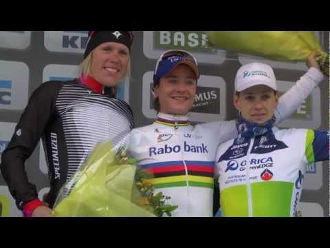 Marianne Vos wins Women's Tour of Flanders - 2013 UCI Women's Road World Cup