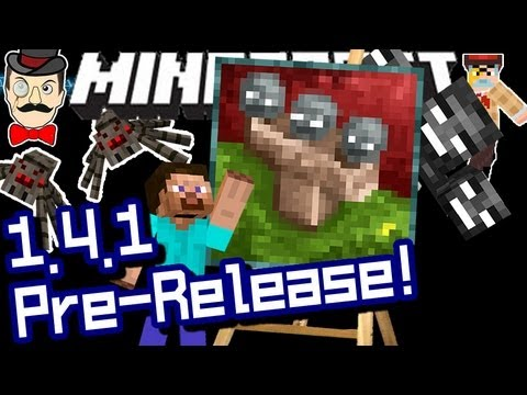 Minecraft 1.4.1 BUG FIXES & Wither Painting! Pre-Release!