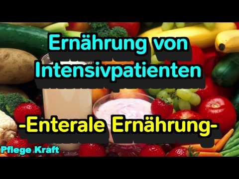 Ernährung von Intensivpatienten - Teil 2 - Enterale Ernährung