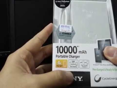 Harga Power Bank Sony 10000mah Sony Power Bank cp F10l 10000