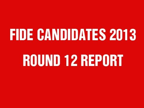 FIDE Candidates 2013 Round 12 Power Play Report