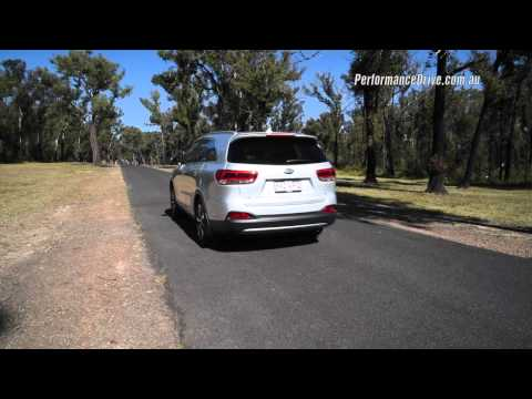 2015 Kia Sorento V6 0-100km/h & engine sound