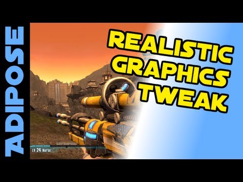 Borderlands 2: Realistic Graphics Tweak Tutorial. Disable outlines