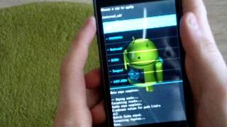 Установка Android 4.4.2 KITKAT для LG P705 (L7)