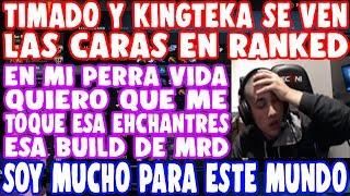 IMPRESIONANTE! TIMADO Y KINGTEKA PROTAGONIZAN UN DOTAZO DIGNO DE UNA FINAL | DOTA 2