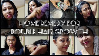 DIY For Double Hair Growth | How To Massage the Scalp |  Get Natural Thick And Long Hair | Asha