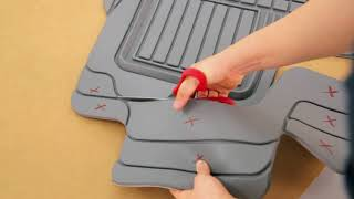 How to Easily Trim Rubber Car Floor Mats