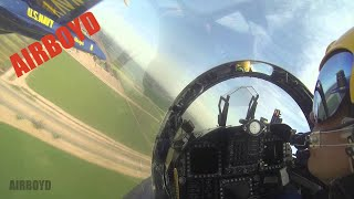 Blue Angels Solo Pilot View