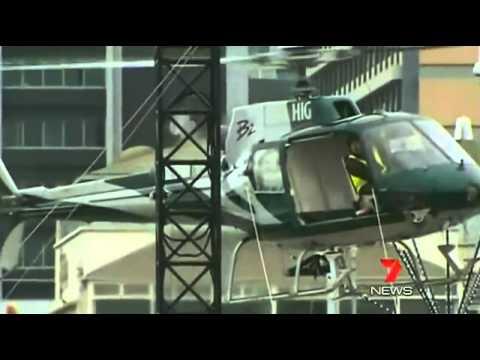 Pilot Survives Helicopter Crash