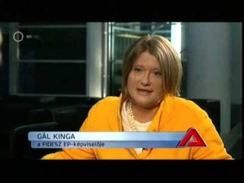 Gál Kinga az M1 A Lényeg című műsorában