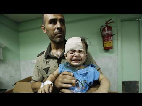 Gaza conflict Israeli partial ceasefire comes into effect