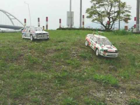 TAMIYA RALLY CHAMPIONSHIP (slowmotion)