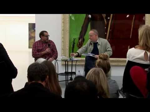 Julian Schnabel in conversation with Hans Ulrich Obrist, Dairy Art Centre, London