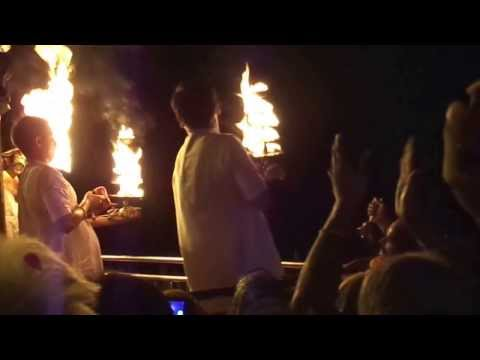 Shayan Aarti Of Yamunaji At Vishram Ghat As On 8th Sept.,2013 video