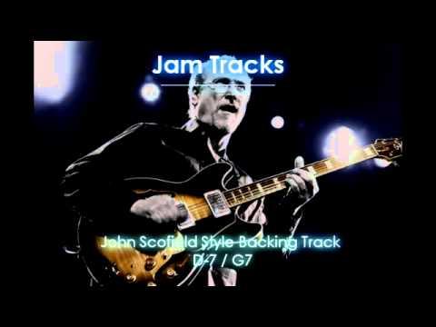 John Scofield Style Backing Track