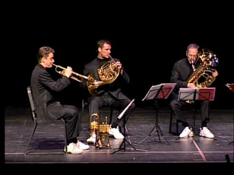 Canadian Brass - &quot;Toccata and Fugue in d minor&quot; - J. S. Bach