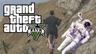 GTA 5 Cheats - MOON GRAVITY CHEAT CODE! (Grand Theft Auto V Moon Jump Cheat)